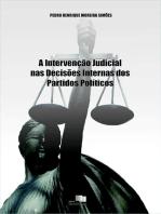 A IntervenÇÃo Judicial Nas DecisÕes Internas Dos Partidos PolÍticos