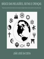 BÁsico Das ReligiÕes, Seitas E CrenÇas