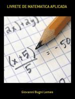 Livrete De Matematica Aplicada