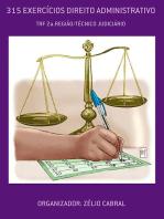 315 ExercÍcios Direito Administrativo