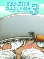 Fanzine Ilustrado 3 Caricaturas, Charges, Cartuns E Tiras