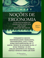 Noções De Ergonomia