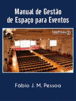 Manual De Gestão De Espaços Para Eventos