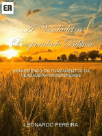 A Verdadeira Prosperidade Bíblica