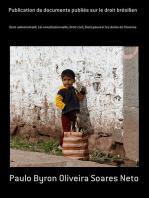 Publication De Documents Publiés Sur Le Droit Brésilien