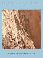 Estudio De Estabilidad De Taludes Para Una Cantera De Caliza Por Metodos Geomecanicos