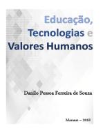 Educação, Tecnologias E Valores Humanos