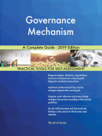 Governance Mechanism A Complete Guide - 2019 Edition