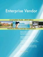 Enterprise Vendor A Complete Guide - 2019 Edition