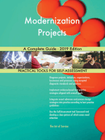 Modernization Projects A Complete Guide - 2019 Edition