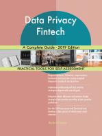 Data Privacy Fintech A Complete Guide - 2019 Edition
