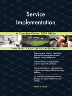 Service Implementation A Complete Guide - 2019 Edition