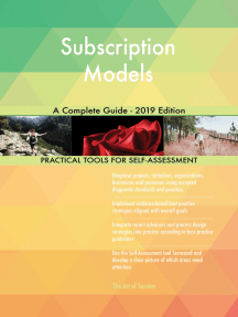 Subscription Models A Complete Guide - 2019 Edition
