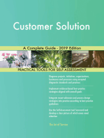 Customer Solution A Complete Guide - 2019 Edition