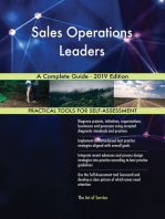 Sales Operations Leaders A Complete Guide - 2019 Edition