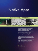 Native Apps A Complete Guide - 2019 Edition