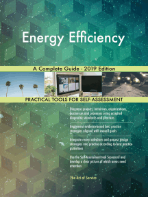 Energy Efficiency A Complete Guide - 2019 Edition