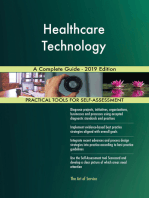 Healthcare Technology A Complete Guide - 2019 Edition