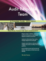 Audit Response Team A Complete Guide - 2019 Edition