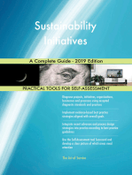 Sustainability Initiatives A Complete Guide - 2019 Edition