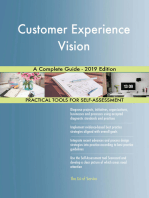 Customer Experience Vision A Complete Guide - 2019 Edition