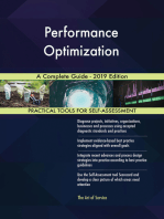 Performance Optimization A Complete Guide - 2019 Edition