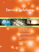 Service Solutions A Complete Guide - 2019 Edition