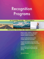 Recognition Programs A Complete Guide - 2019 Edition