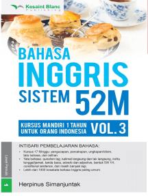 Bahasa Inggris Sistem 52M Volume 3
