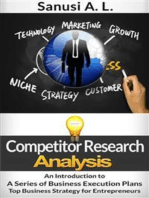 Competitor Research Analysis