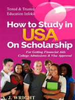 How to Study in USA on Scholarship