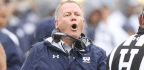 In Year 10 Of The Brian Kelly Era, Notre Dame Camp Seems Eerily Calm