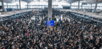 Thousands Of Protesters Storm Hong Kong Airport, Shutting Down Flights
