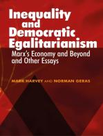 Inequality and Democratic Egalitarianism