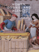 Women, dowries and agency: Marriage in fifteenth–century Valencia