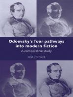 Odoevsky's four pathways into modern fiction