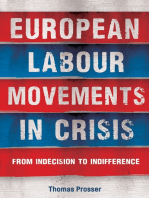 European labour movements in crisis