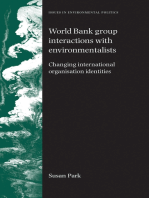 World Bank Group interactions with environmentalists