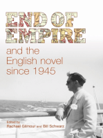 End of empire and the English novel since 1945