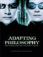 Adapting philosophy: Jean Baudrillard and *The Matrix Trilogy*