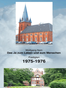 Das Ja zum Leben und zum Menschen, Band 17: Predigten 1975-1976