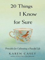 20 Things I Know for Sure