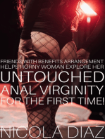 Friends With Benefits Arrangement Helps Horny Woman Explore Her Untouched Anal Virginity For The First Time!