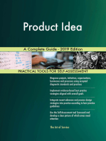 Product Idea A Complete Guide - 2019 Edition