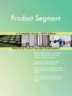 Product Segment A Complete Guide - 2019 Edition