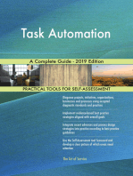 Task Automation A Complete Guide - 2019 Edition