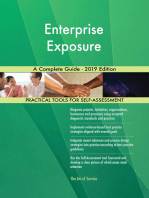 Enterprise Exposure A Complete Guide - 2019 Edition