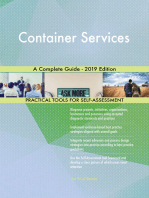 Container Services A Complete Guide - 2019 Edition