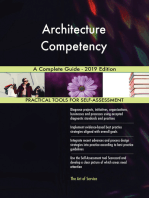 Architecture Competency A Complete Guide - 2019 Edition