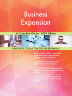 Business Expansion A Complete Guide - 2019 Edition
